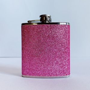 Sparkletini Pink Party Flask