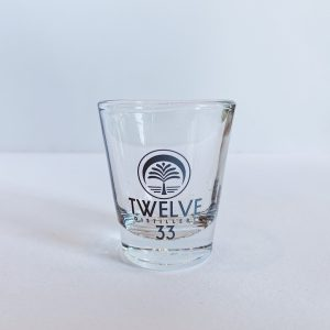 Twelve 33 Shot Glass (Silver)