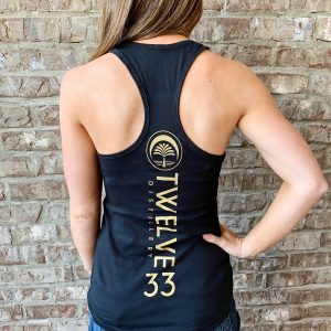 Ladies Racerback Tank (Black)