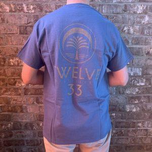 Basic Logo Tee (Blue)