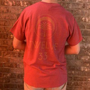 Basic Logo Tee (Red)