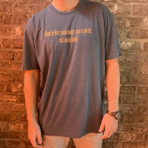 """Rum Before Noon Makes You A Pirate, Not an Alcoholic"" Tee"