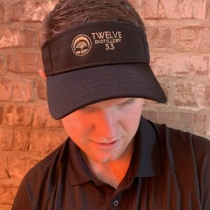 Embroidered Visor (Black)