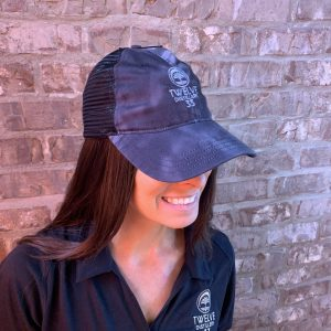 Mesh Relaxed Embroidered Hat